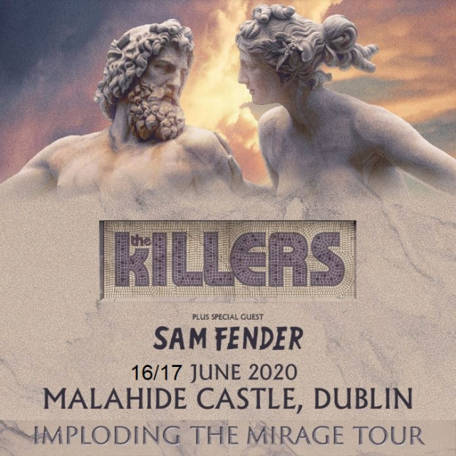 Concert Bus Tickets To The Killers In Malahide Dublin June